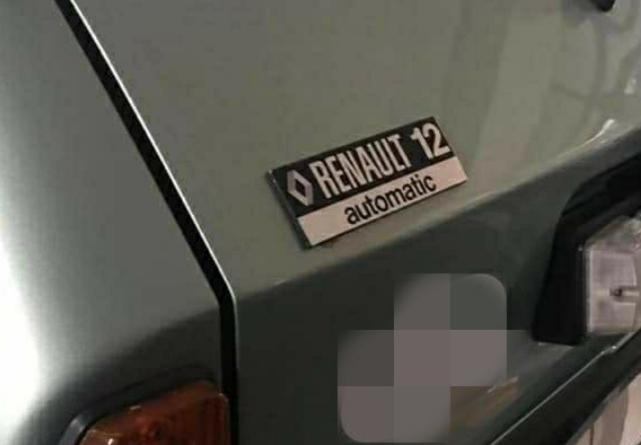 Renault 12 Toros otomatik vites