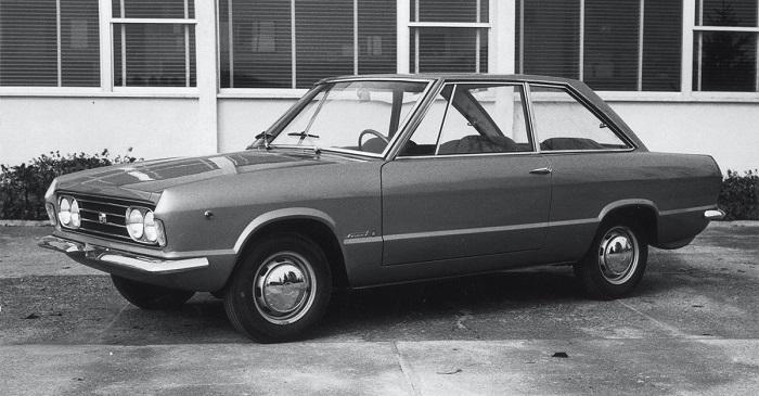 1966 model Fiat 124 Smart - Francis Lombardi tasarımı