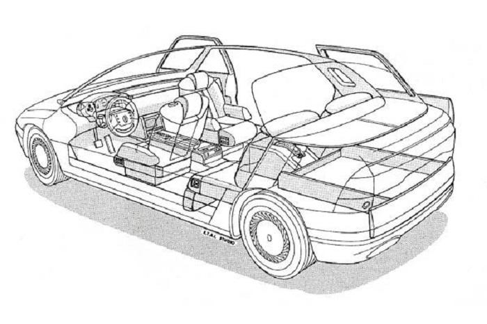 Renault Megane 1988 conceot içten yanmalı oto blog