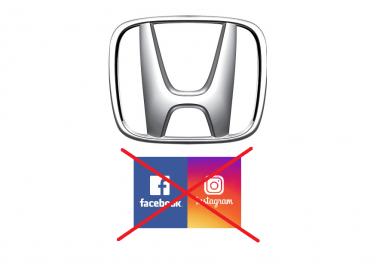 Honda'nın Facebook ve Instagram boykotu