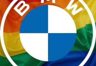 BMW'den  LGBT renklerinde logoya tepkiler büyüyor