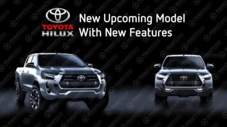 Yeni yüzü ile Toyota Hilux