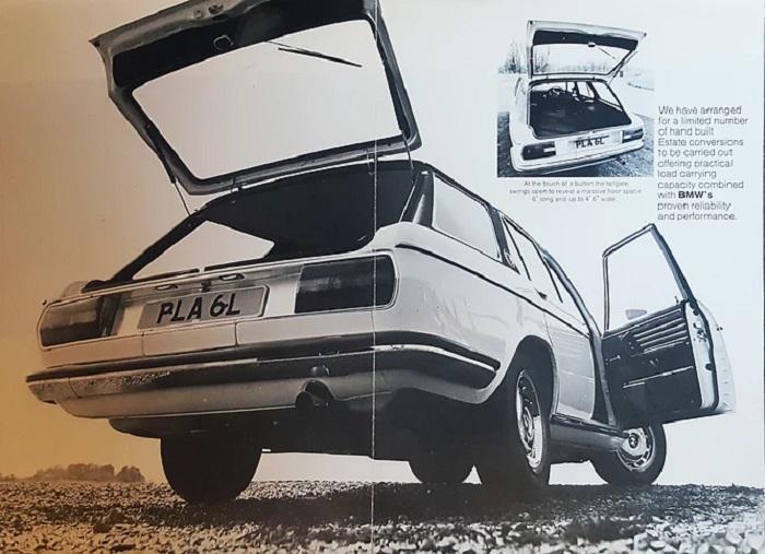BMW E3 Si 3.0 Estate/Kombi