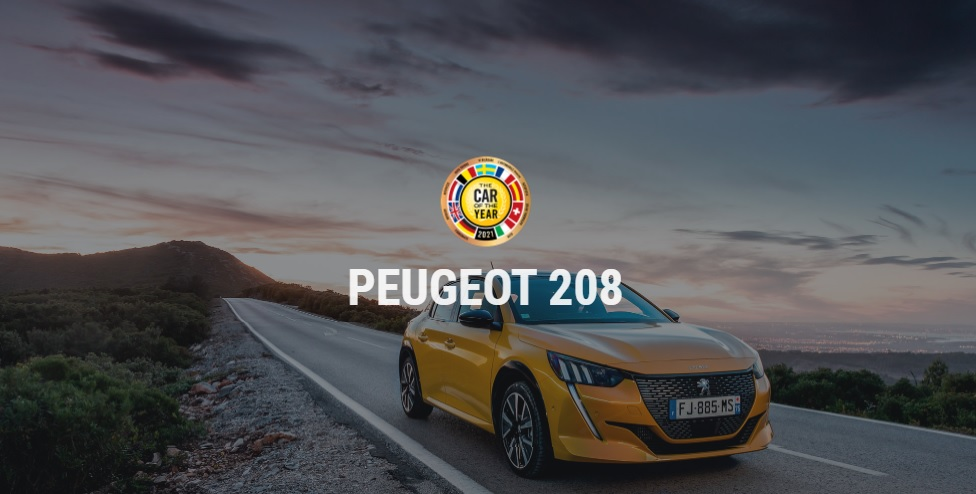 2020 yılının en iyi otomobili peugeot 208