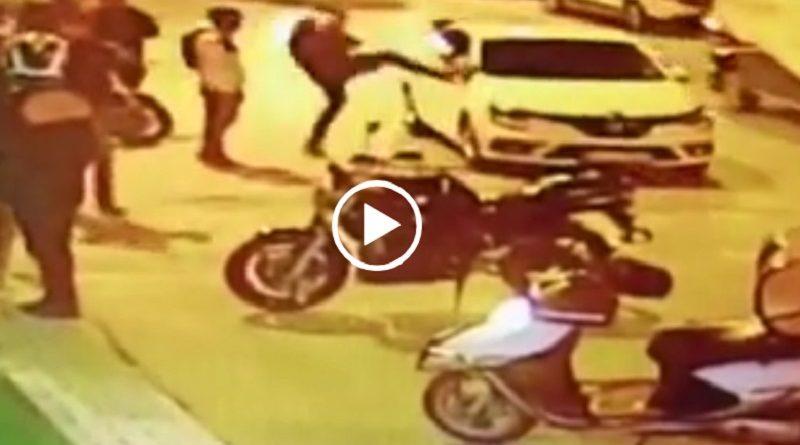 Yine motorcu şiddeti
